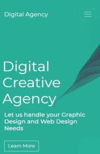 Digital Agency on mobile