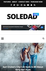 Soledad on mobile