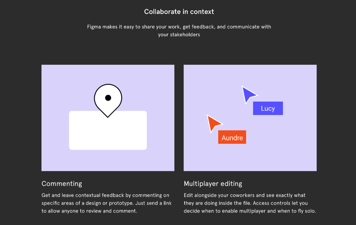 Figma collaboration tools